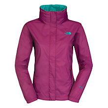 Buy The North Face Resolve Jacket, Purple Online at johnlewis.com