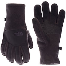 Buy The North Face Denali Etip Gloves, Black Online at johnlewis.com