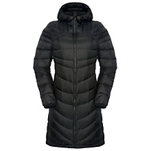Buy The North Face Upper West Side Quilted Women's Parka, Black Online at johnlewis.com