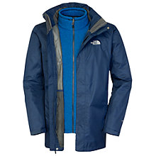 Buy The North Face Triton Triclimate 3-in-1 Parka, Cosmic Blue Online at johnlewis.com