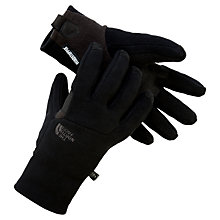 Buy The North Face Etip Pamir Windstopper Gloves, Black Online at johnlewis.com