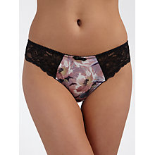 Buy COLLECTION by John Lewis Natalia Thong, Dolce Flower Print Online at johnlewis.com