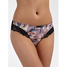 Buy COLLECTION by John Lewis Natalia Print Briefs, Dolce Flower Print Online at johnlewis.com