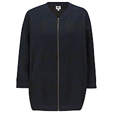 Buy Kin by John Lewis Diamond Jacket, Indigo Online at johnlewis.com
