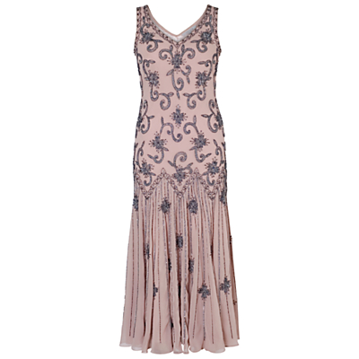 Chesca Beaded Flapper Dress