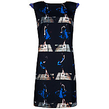 Buy Ted Baker Rosie Printed Tunic Dress, Navy Online at johnlewis.com