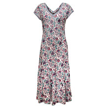 Buy East Maybelle Print Dress, White / Multi Online at johnlewis.com
