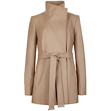 Buy Ted Baker Chessy Short Belted Wrap Coat Online at johnlewis.com