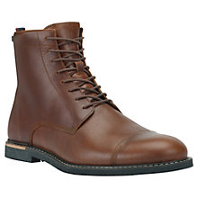 Buy Timberland Earthkeepers Brook Park Side-Zip Boots, Red Brown Online at johnlewis.com