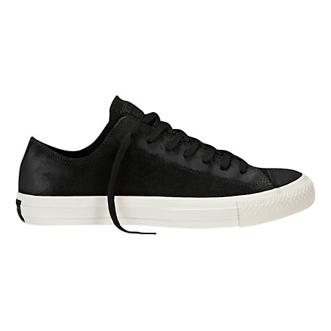 Buy Converse Chuck Taylor All Star Ox Trainers, Black Online at johnlewis.com