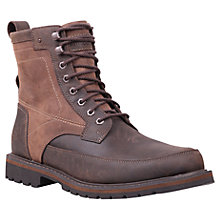 Buy Timberland Chestnut Ridge Leather Boots, Dark Brown Online at johnlewis.com