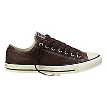 Buy Converse Chuck Taylor All Star Trainers, Burnt Umber Online at johnlewis.com