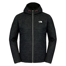 Buy The North Face Zermatt Full Zip Fleece Hoodie, Black Online at johnlewis.com