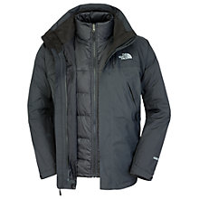 Buy The North Face Mountain Light Triclimate 3-in-1 Jacket, Black Online at johnlewis.com