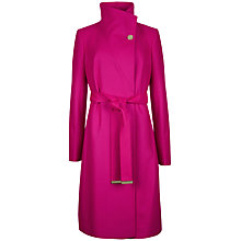 Buy Ted Baker Nevia Belted Wrap Coat Online at johnlewis.com