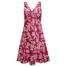 Buy East Mahika Sleeveless Dress, Raspberry Online at johnlewis.com