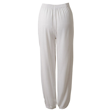 Buy East Distressed Harem Trousers Online at johnlewis.com