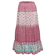 Buy East Anohki Print Skirt, Celadon Online at johnlewis.com