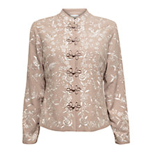 Buy East Florella Jacket, Stone Online at johnlewis.com