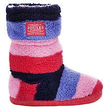 Buy Little Joule Multi-Coloured Slippers, Multi Online at johnlewis.com