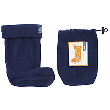 Buy Little Joule Wellington Socks, Navy Online at johnlewis.com