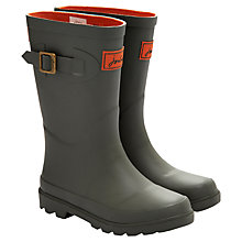 Buy Little Joule Field Wellington Boots, Olive Online at johnlewis.com