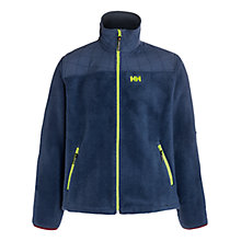 Buy Helly Hansen October Pile Fleece Jacket, Grey Online at johnlewis.com