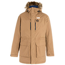 Buy Helly Hansen Waterproof Parka Jacket, Beige Online at johnlewis.com