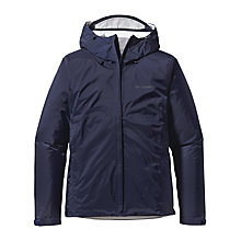 Buy Patagonia Shell Jacket, Navy Online at johnlewis.com
