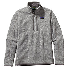 Buy Patagonia Better Sweater™ Long Sleeve 1/4 Zip Fleece, Grey Online at johnlewis.com
