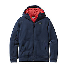 Buy Patagonia Better Insulated Fleece Hoodie, Navy Online at johnlewis.com