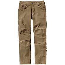 Buy Patagonia Quandary Trousers, Tan Online at johnlewis.com