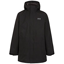 Buy Helly Hansen 3/4 Length Jacket, Black Online at johnlewis.com