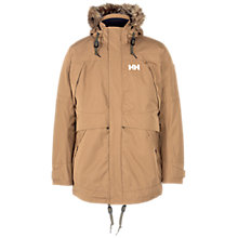 Buy Helly Hansen Coastal Waterproof Parka, Beige Online at johnlewis.com