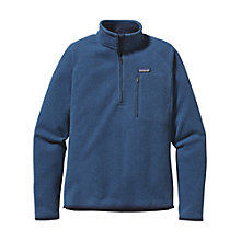 Buy Patagonia Better Sweater™ Long Sleeve 1/4 Zip Fleece, Blue Online at johnlewis.com