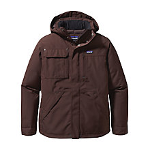 Buy Patagonia Wanaka Down Jacket, Brown Online at johnlewis.com