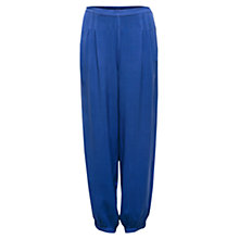 Buy East Distressed Harem Trousers, Nautical Online at johnlewis.com