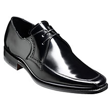 Buy Barker Wilson Leather Classic Derby Shoes, Black Online at johnlewis.com