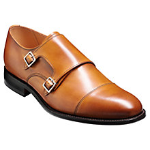 Buy Barker Tunstall Leather Shoes, Cedar Online at johnlewis.com