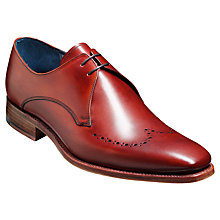 Buy Barker Ewan Leather Derby Shoes, Rosewood Calf Online at johnlewis.com