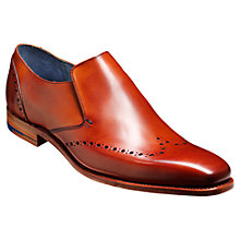 Buy Barker Bourne Leather Slip On Shoes, Rosewood Calf Online at johnlewis.com