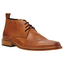 Buy Dune Montenegro Leather Lace-Up Boots Online at johnlewis.com