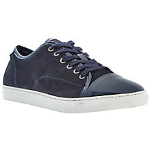 Buy Dune Tickle Suede Cupsole Trainers Online at johnlewis.com