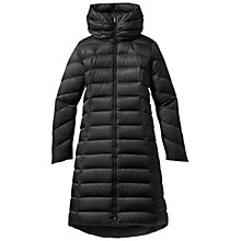 Buy Patagonia Women's Downton Loft Long Parka Jacket,  Black Online at johnlewis.com