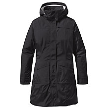 Buy Patagonia Torrentshell Packable City Coat, Black Online at johnlewis.com