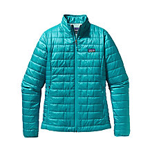 Buy Patagonia Nano Puff Jacket, Teal Online at johnlewis.com
