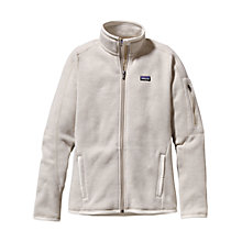 Buy Patagonia Women's Insulated Better Sweater™ Fleece Jacket, Stone Online at johnlewis.com