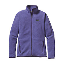Buy Patagonia Women's Insulated Better Sweater™ Fleece Jacket, Purple Online at johnlewis.com