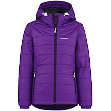 Buy Skogstad Girls' Tomefjell Primaloft Padded Jacket, Purple Online at johnlewis.com