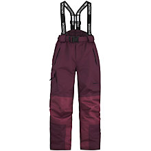 Buy Skogstad Children's Panther Tord 2 Layer Salopette Trousers, Plum Online at johnlewis.com